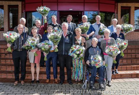 Lintjesregen met 14 koninklijke onderscheidingen in de gemeente Medemblik