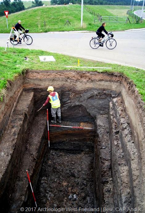 Archeologisch onderzoek onthult hechte band tussen Almersdorp en Opperdoes