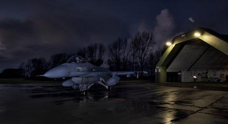 Nachtvliegen F-16