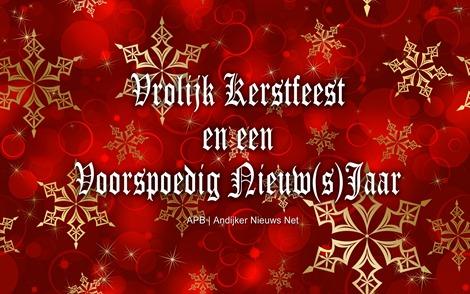 Vrolijk Kerstfeest en een Voorspoedig Nieuw(s)jaar