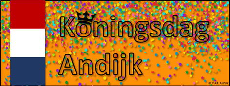 Koningsdag 2019 in Andijk
