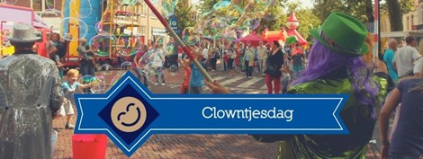 Woensdagmarkt 22 augustus: Hoornse Clowntjesdag