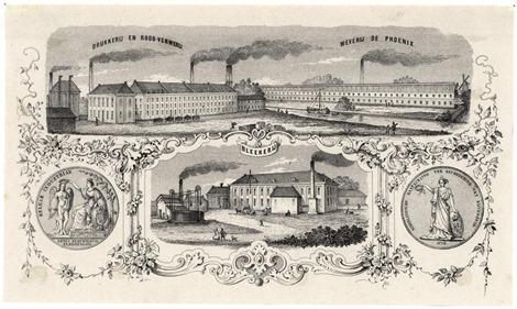 Lezing Lintsen Fabriek van previnaire Haarlem
