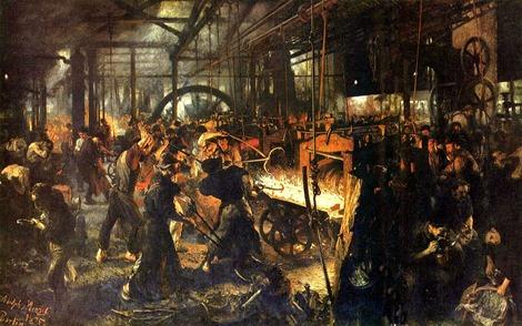 Lezing Lintsen Walserij 1875 Adolf_von_Menzel