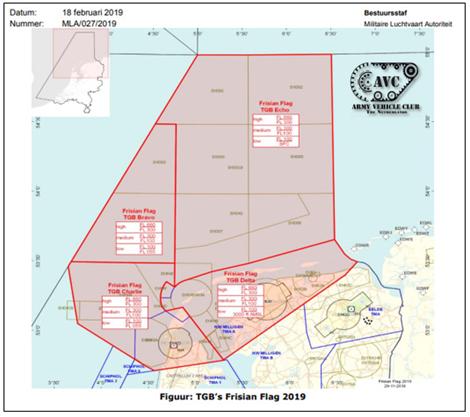 F-16's en Globemaster boven Andijk  | Frisian Flag 2019
