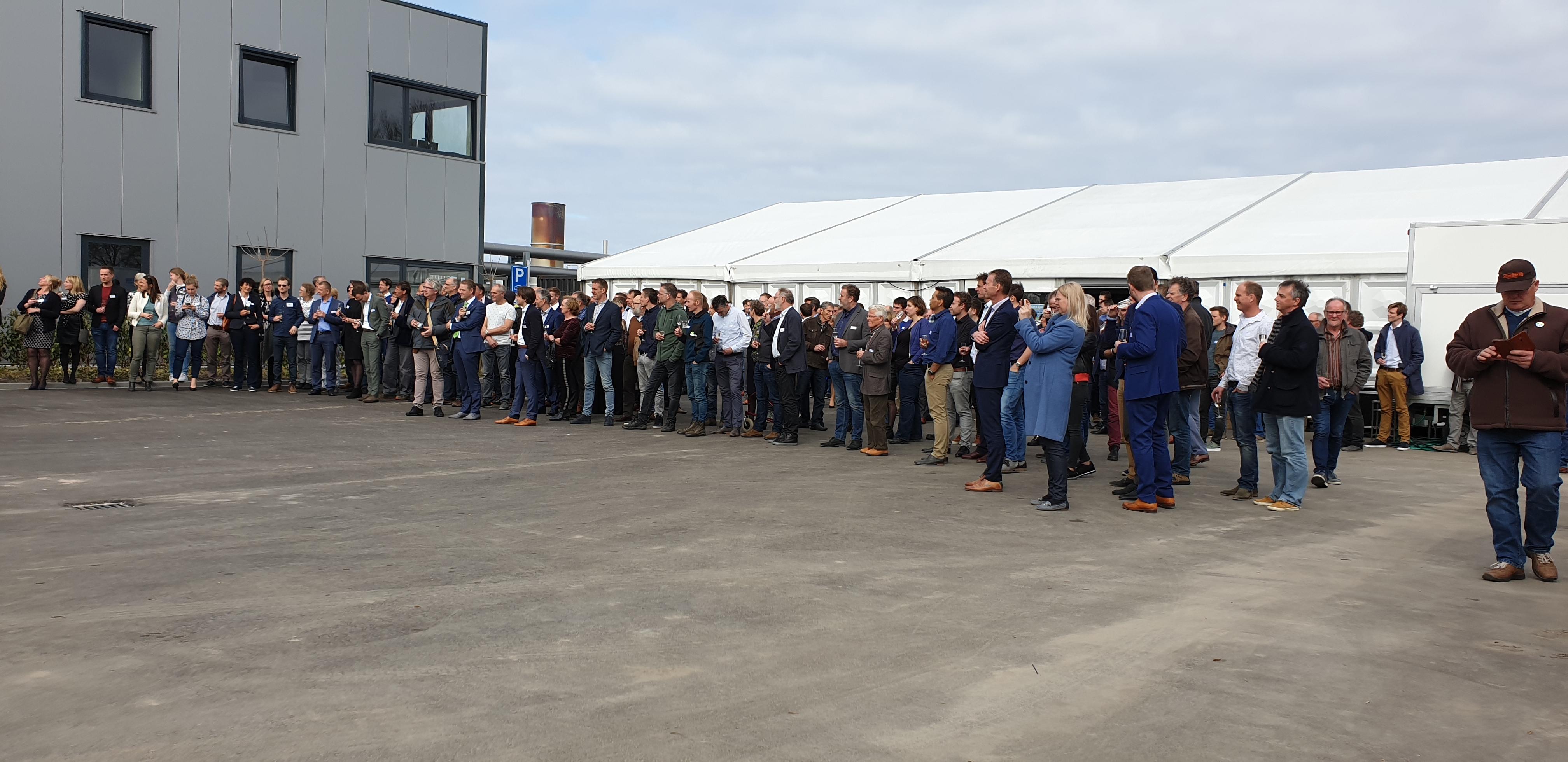 Opening Aardwarmtecentrale in Andijk | Foto's © Dorpsraad Andijk - geothermie