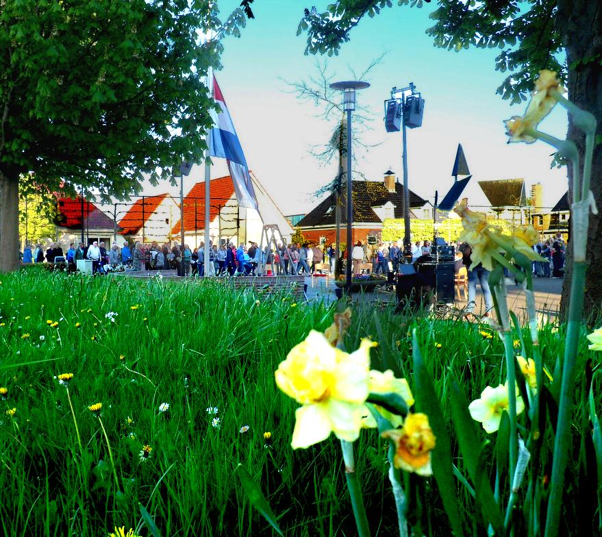 Herdenking 4 mei in Andijk