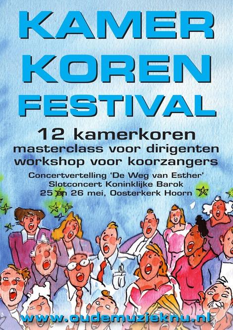 Kamerkorenfestival Hoorn-Oude Muziek met uniek programma