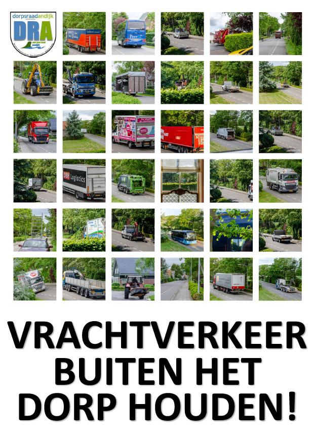 Dorpsraad Andijk: 'Houd vrachtverkeer buiten het dorp!'