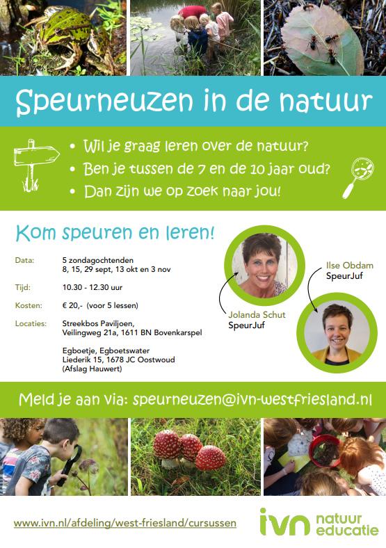 IVN-cursus: De wereld waarin wij wonen in West-Friesland