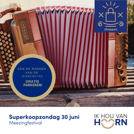 Superkoopzondag Hoorn met Meezingfestival