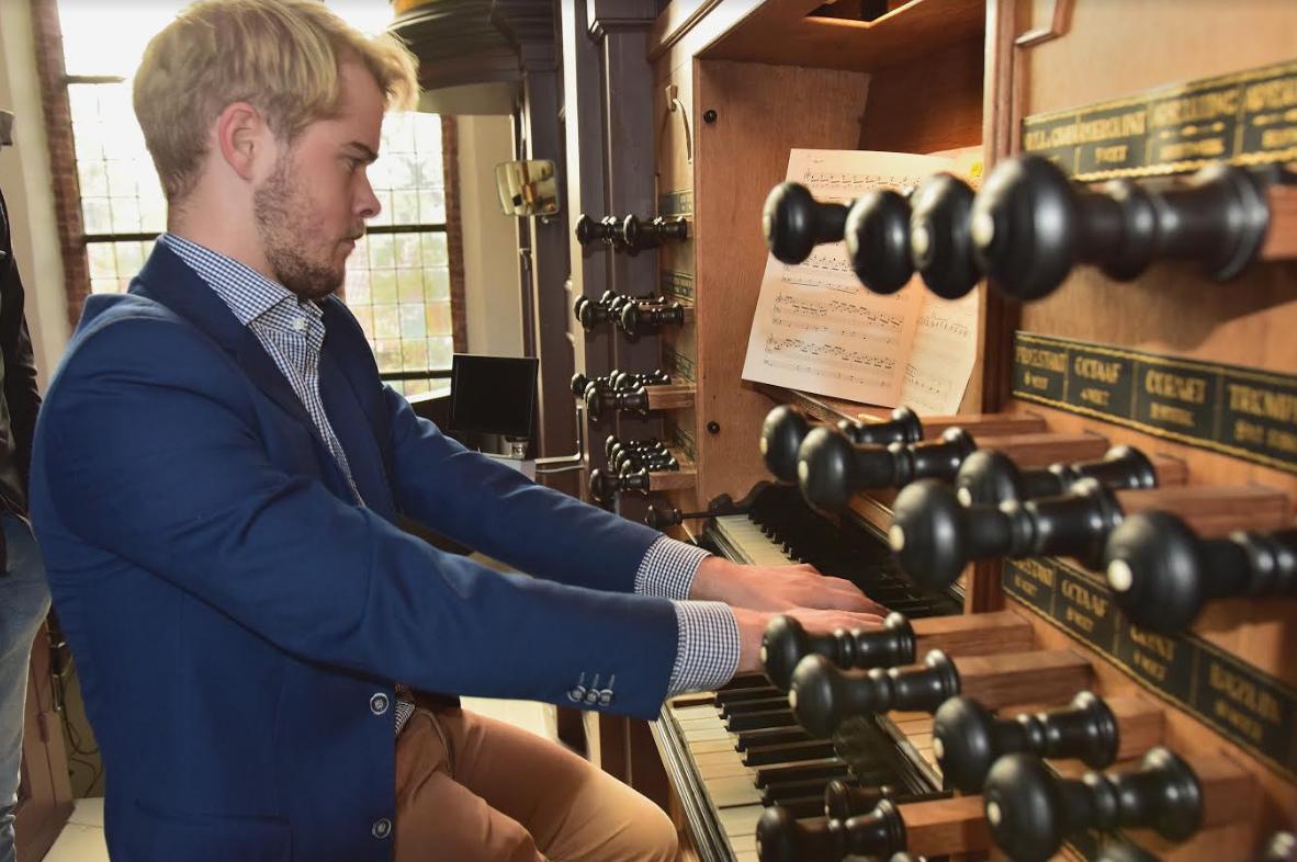 Orgelconcert Mark Brandwijk in Venhuizen