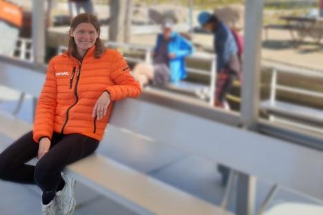 Edith van Dijk ambassadrice IJsselmeer Zwemmarathon Stavoren-Medemblik