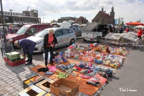 Kofferbakmarkt en Braderie in Hoogkarspel