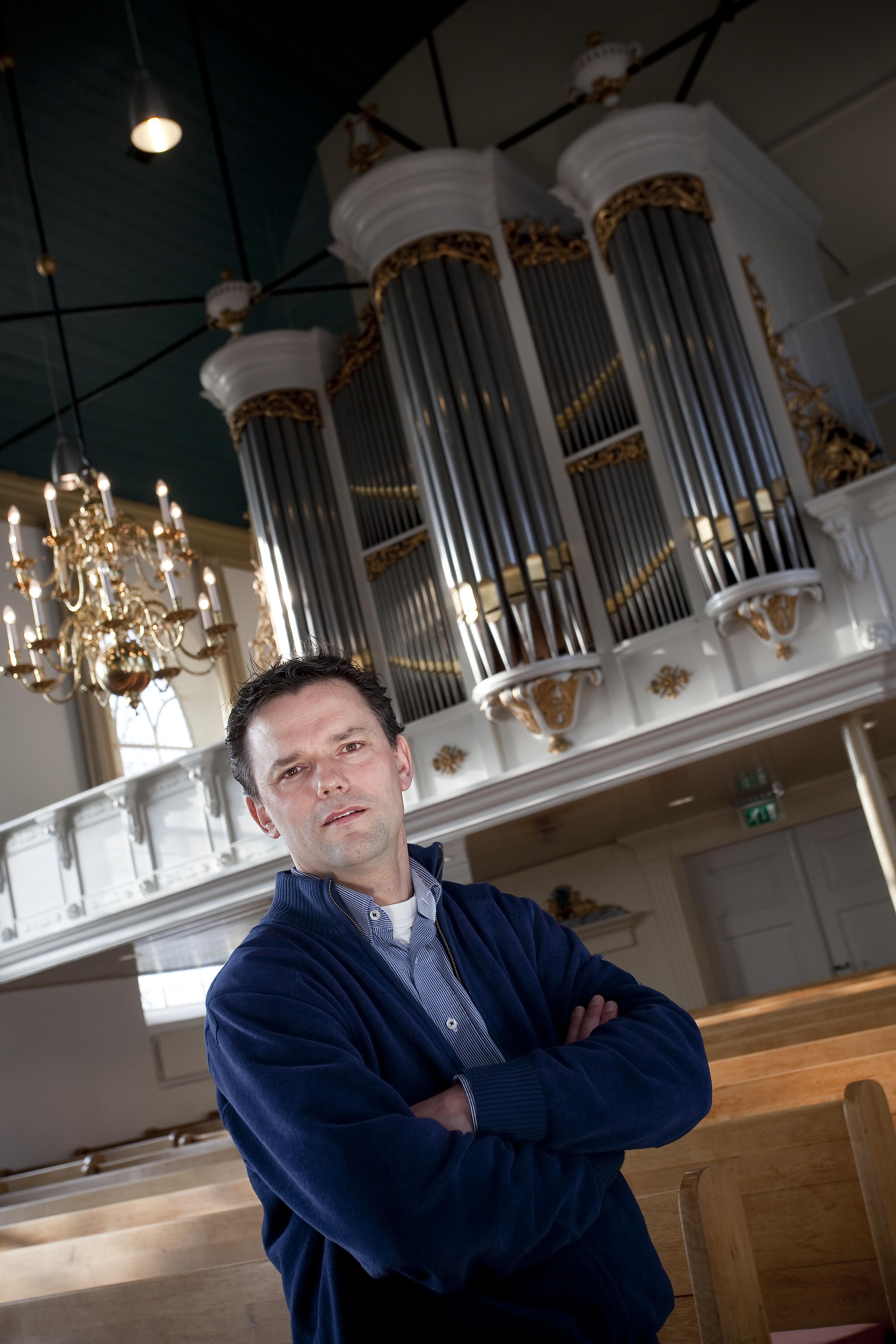 Orgelconcert André van Vliet  in NH kerk Venhuizen
