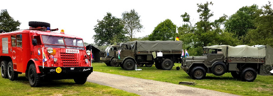 De Veldpost Nr. 3 – 2019 op de mat of in de brievenbus | Army Vehicle CLub  Hemelvaartweekend in Enter - Foto © Alfred Mons