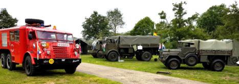De Veldpost Nr. 3 – 2019 op de mat of in de brievenbus | Army Vehicle CLub  Hemelvaartweekend in Enter - Foto © Alfred Mons