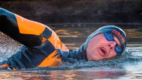 50ste IJsselmeer Zwemmarathon Stavoren-Medemblik en Medemblik Harbour City Swim | Maarten van der Weijden