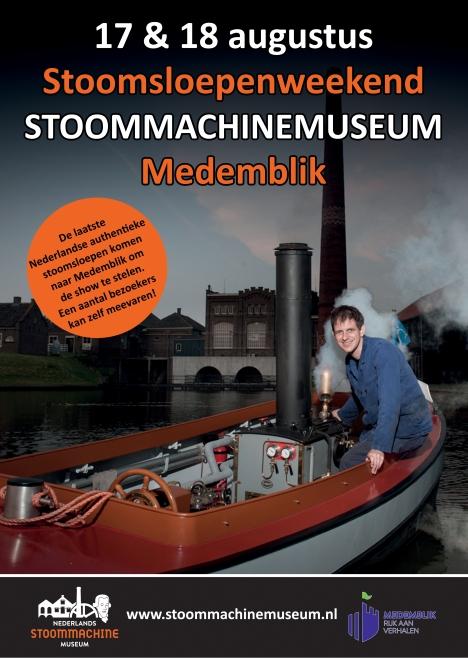Authentieke Stoomsloepen bij Stoommachinemuseum