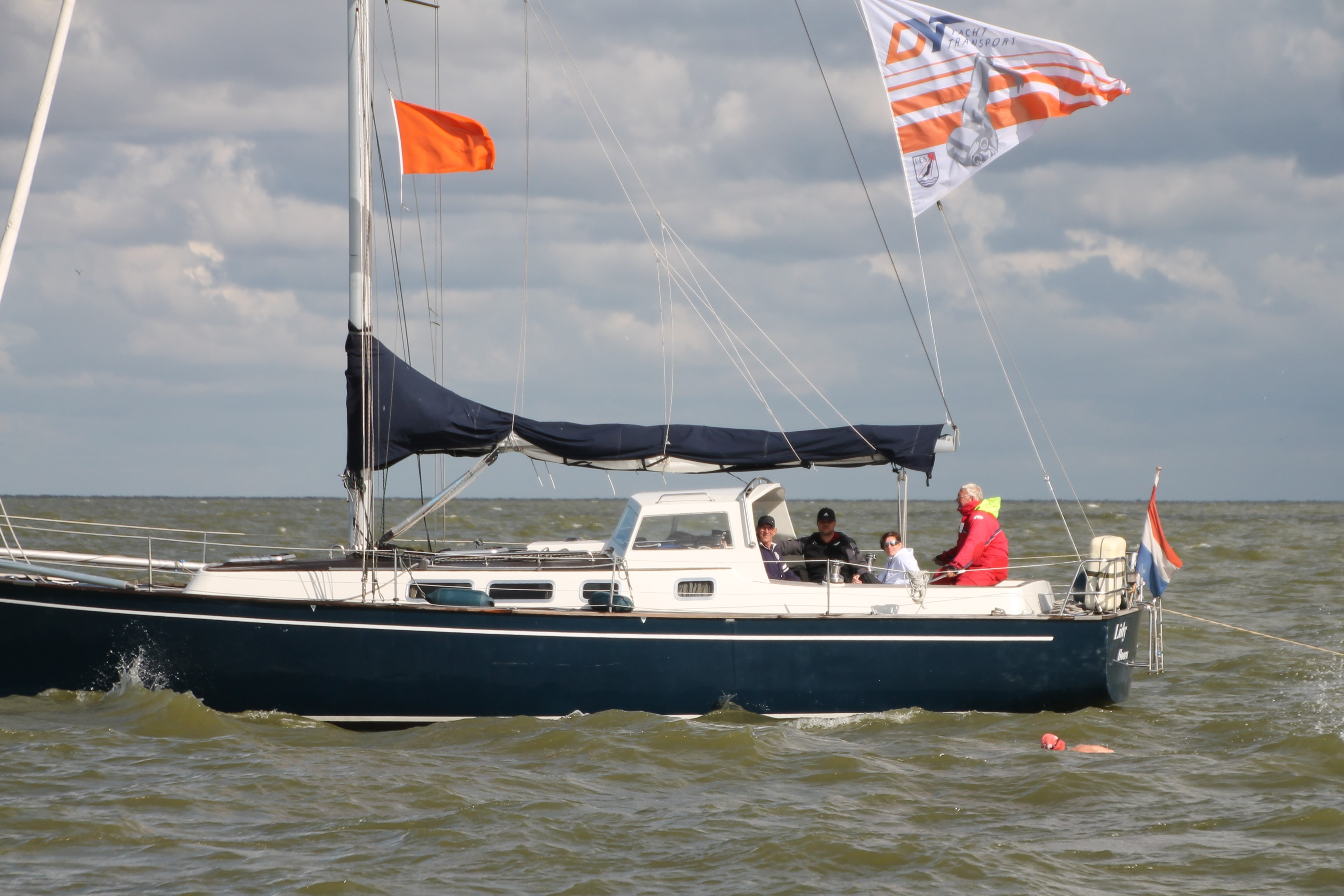 50ste IJsselmeer Zwemmarathon Stavoren-Medemblik en Medemblik Harbour City Swim
