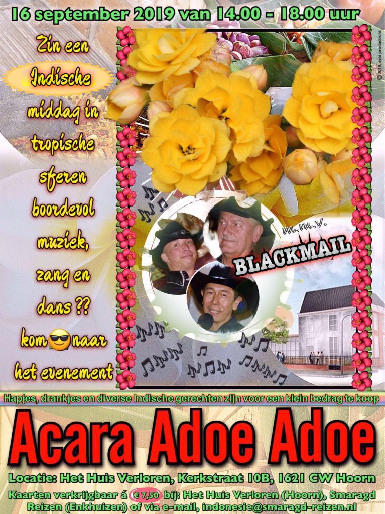 Acara Adoe Adoe in Hoornse Huis Verloren