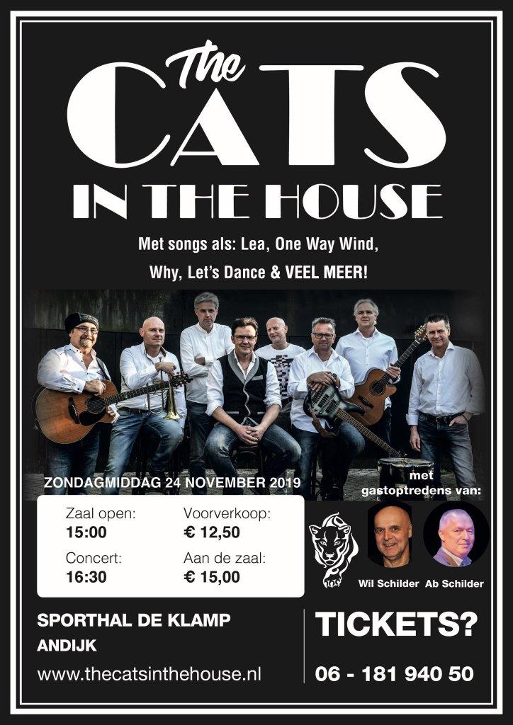 The Cats in the House in Sporthal De Klamp Andijk