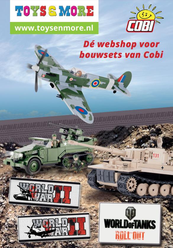 Kinderspeelgoed van de bekendste merken zoals Paw Patrol, Lego, Playmobil, Cobi en Ty Beanie bij Toys & More