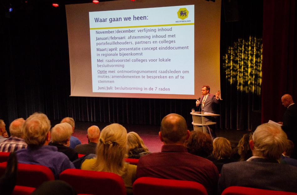 Gezamenlijke ambitie Regio Westfriesland krijgt vorm in Pact 7.1