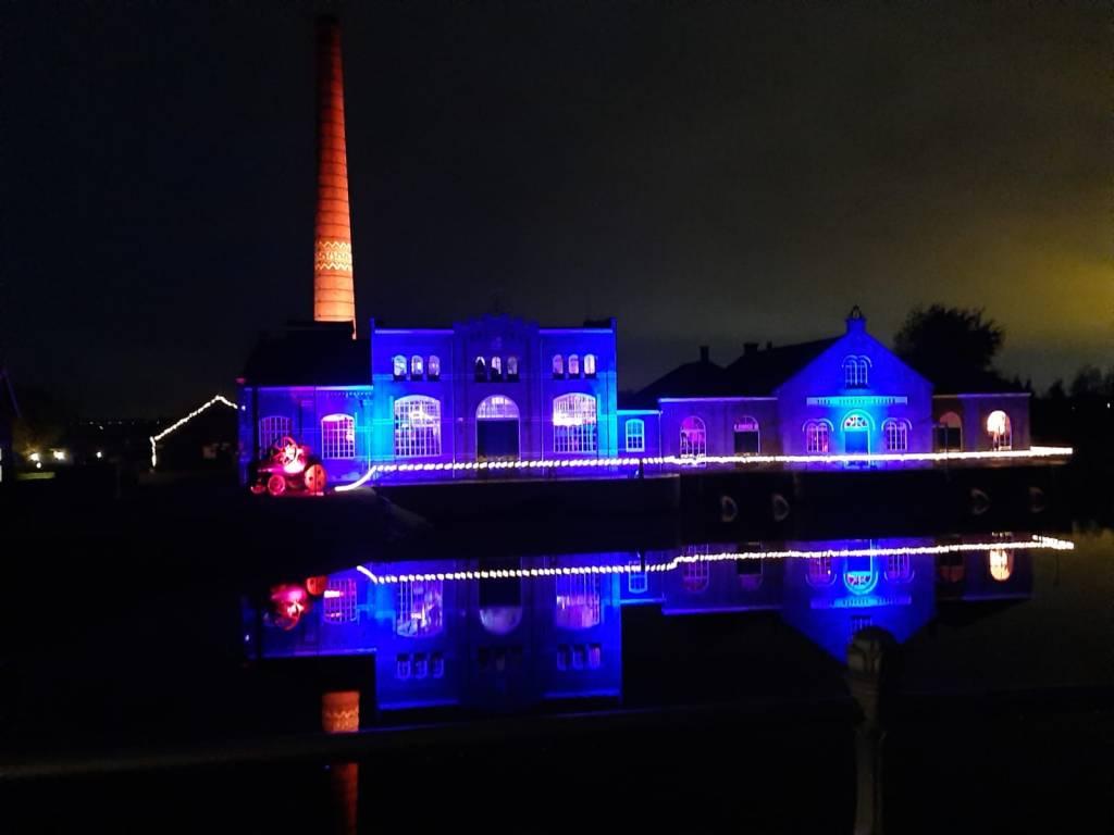 Stoommachinemuseum tijdens de kerstvakantie