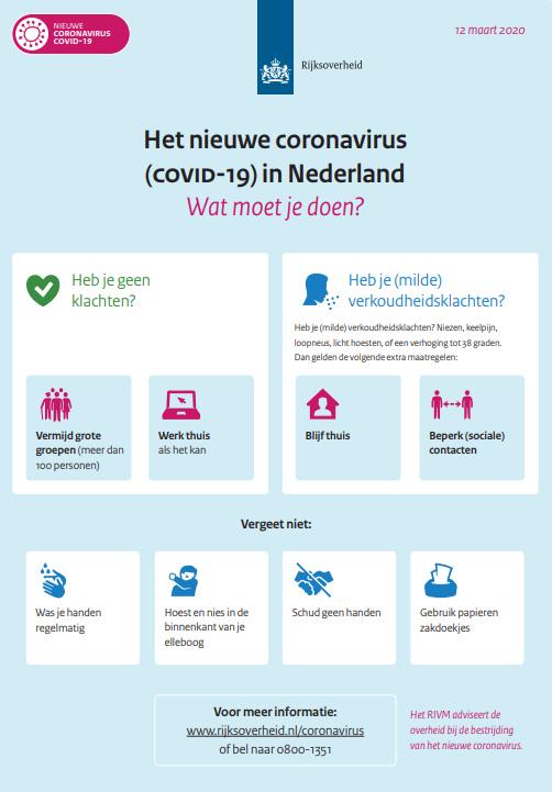 Gemeente Medemblik - aangepaste dienstverlening vanwege #coronavirus