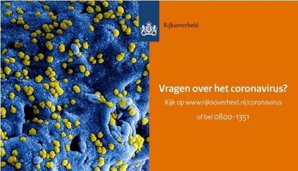 Bekendmaking Noodverordening COVID-19 Veiligheidsregio Noord-Holland Noord