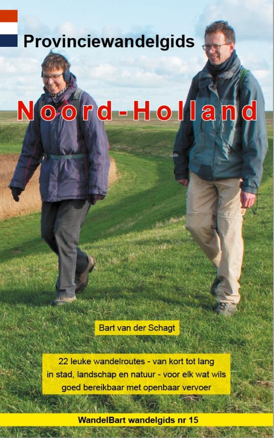 Nieuwe provinciewandelgids Noord-Holland verschenen - Andijk