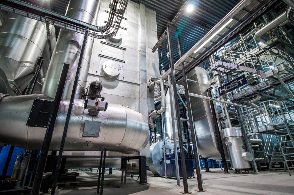 Unieke biomassacentrale in Andijk: 90% lagere nox-emissie dan aardgasketels en gasmotoren