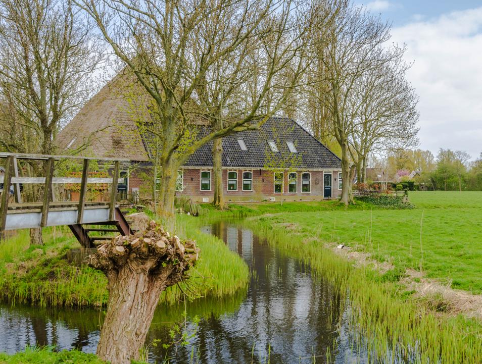 Inventarisatie Noord-Hollandse stolpboerderijen - Stolpboerderij in Andijk - foto © Corina Sas  | APB Andijker Nieuws