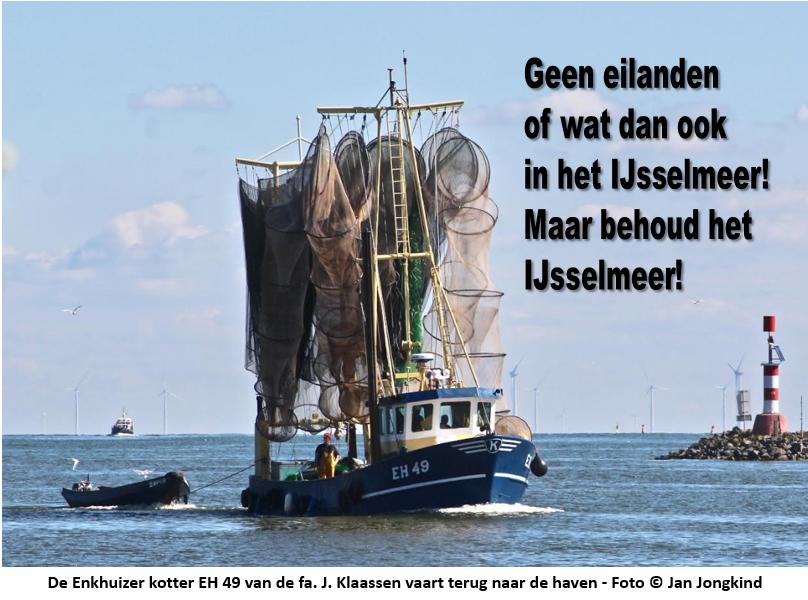 Handtekeningenactie IJsselmeer: Eerste 1.000 binnen!