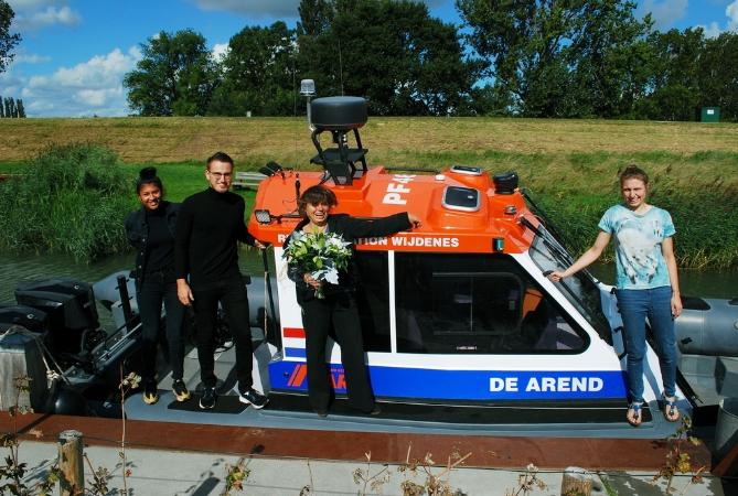 Dit is de nieuwe reddingboot: De Arend