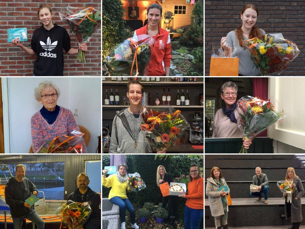 De genomineerden van de Vrijwilligersprijs Medemblik 2020!