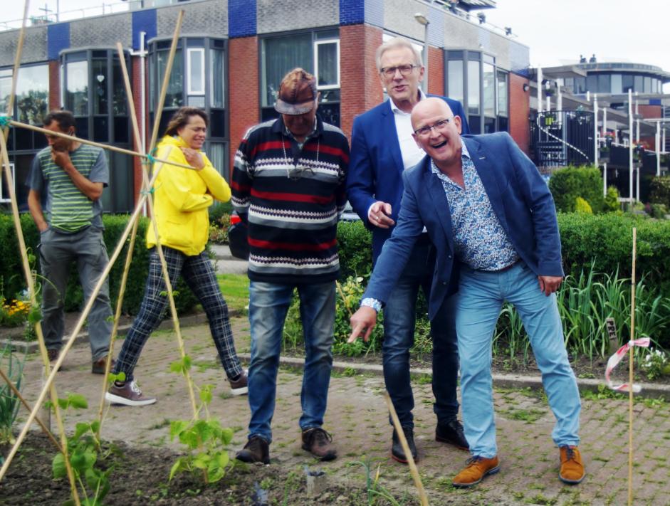 Lief Plekje Grond in Andijk officieel geopend - Foto © G. van Keulen 2021
