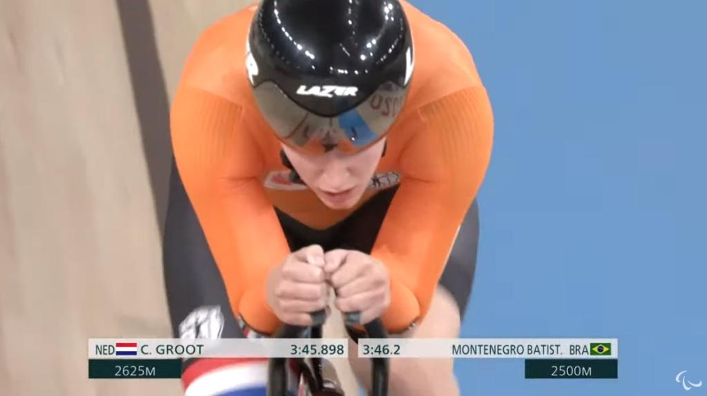 Paralympics | Andijkse Caroline Groot eindigt op de 8ste plaats bij de C5 3000m individuele achtervolging