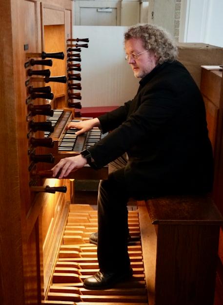 Orgelconcert Aarnoud de Groen in Herv. kerk Venhuizen