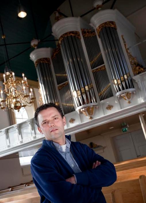 Orgelconcert André van Vliet 18 september a.s. in NH kerk Venhuizen